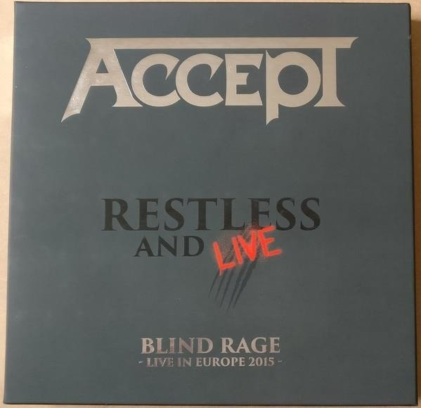 ACCEPT Restless And Live Box BOXSET