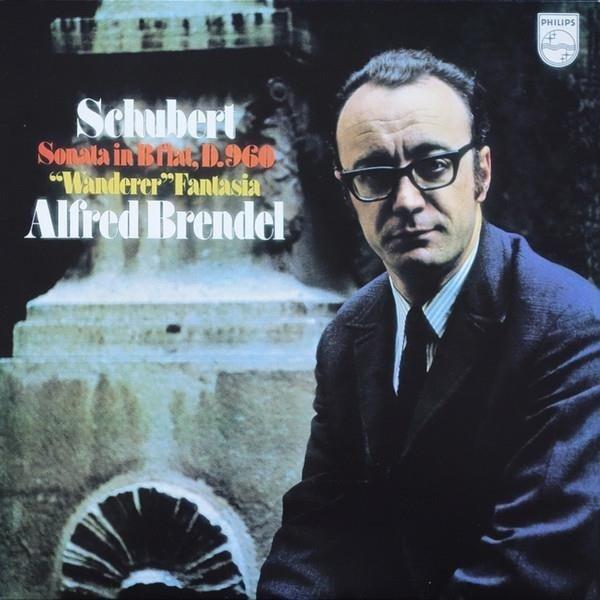 ALFRED BRENDEL Schubert Piano Sonata LP