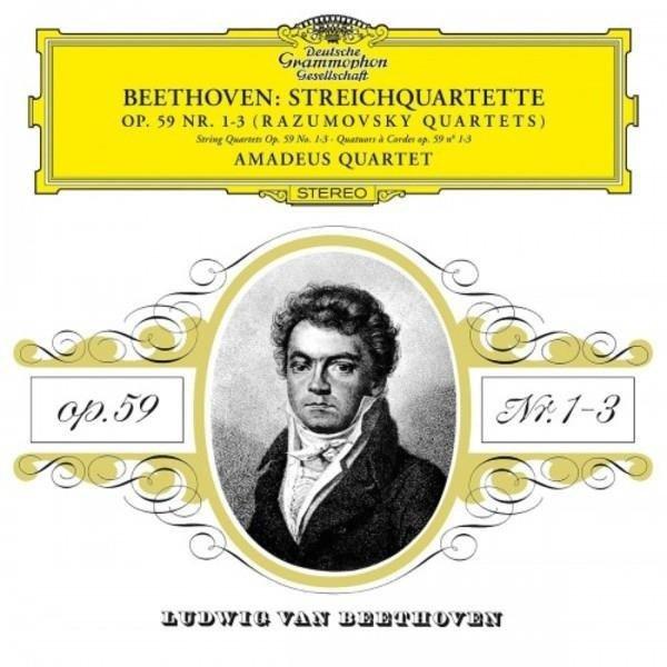 AMADEUS QUARTET Beethoven String Quartets 2LP