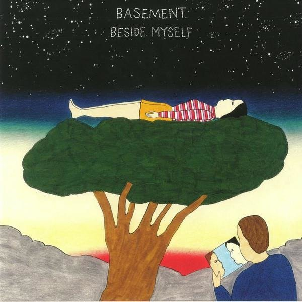 BASEMENT Beside Myself (CLEAR And Red Vinyl) LP
