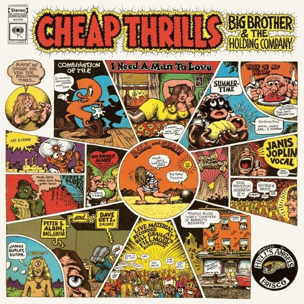 BIG BROTHER & THE HOLDING COMPANY Cheap Thrills LP