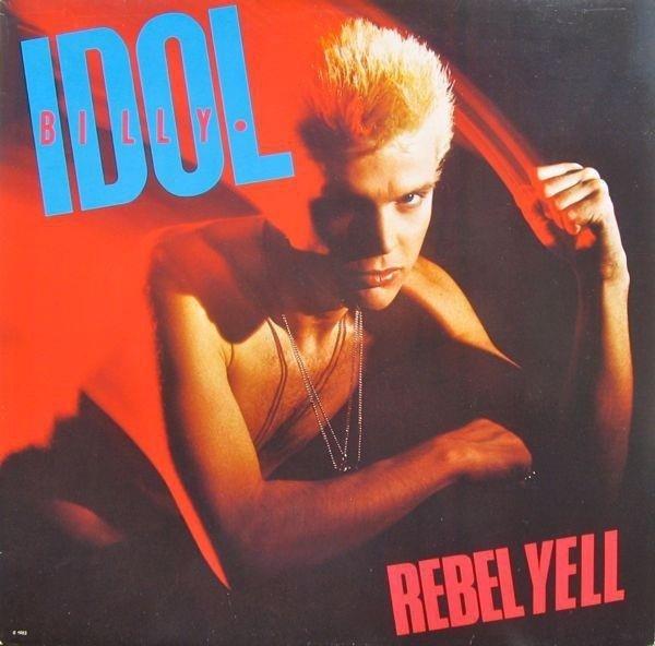 BILLY IDOL Rebel Yell. LP