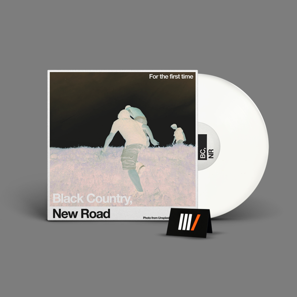 BLACK COUNTRY, NEW ROAD For the First Time LP LTD WHITE