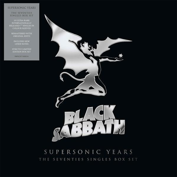 BLACK SABBATH Black Sabbath – Supersonic Years: The Seventies Singles Box Set VINYL SINGLE