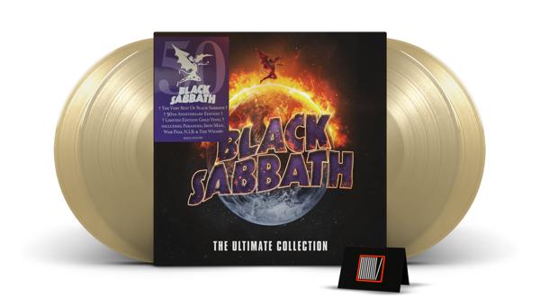 BLACK SABBATH The Ultimate Collection 4LP