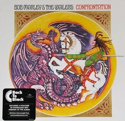 BOB MARLEY & THE WAILERS Confrontation LP