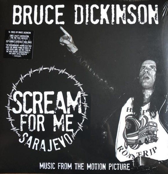 BRUCE DICKINSON Scream For Me Sarajevo 2LP