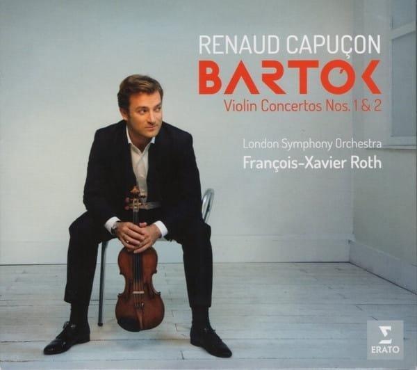 CAPUCON/LONDON SYMPHONY  ORCHESTRA/ROTH Bartok: Violin Concertos Nos. 1 & 2 LP