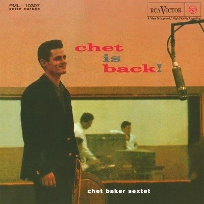CHET BAKER Chet is Back! LP