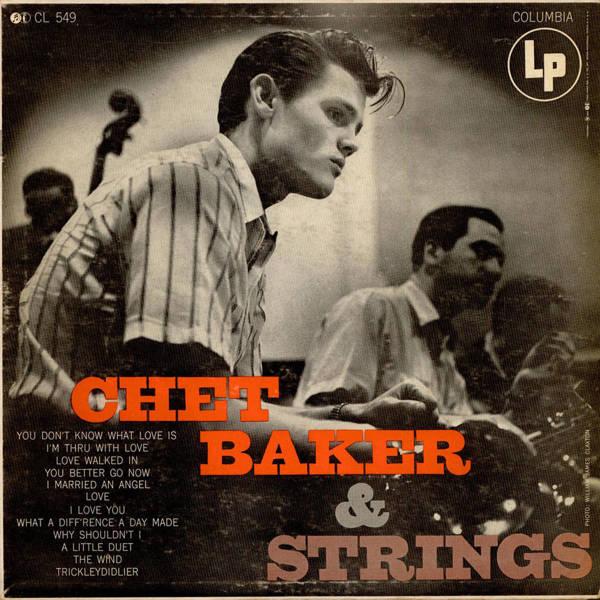 CHET BAKER With Strings LP