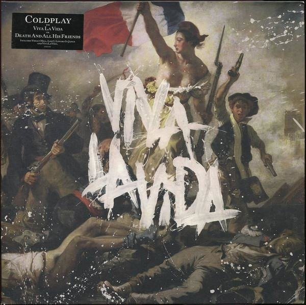 COLDPLAY Viva La Vida LP