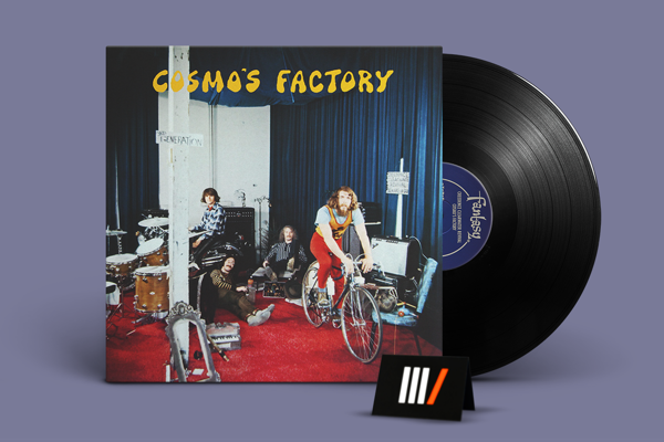 CREEDENCE CLEARWATER REVIVAL Cosmo's Factory LP