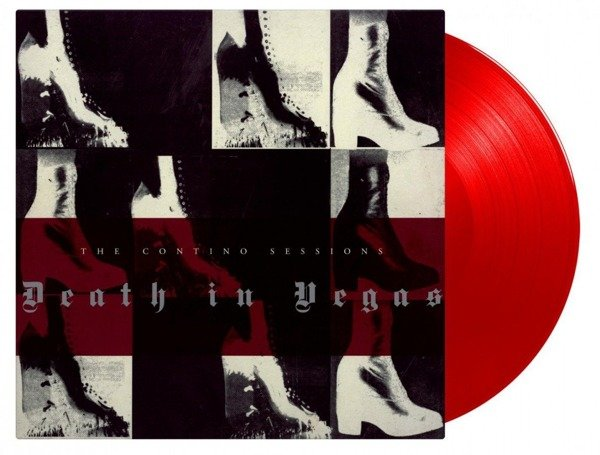 DEATH IN VEGAS Contino Sessions 2LP RED