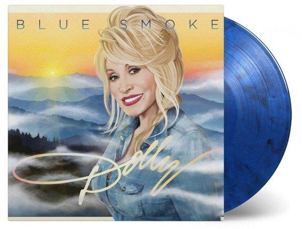 DOLLY PARTON Blue Smoke LP Coloured