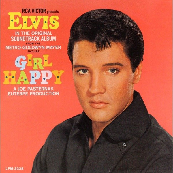 ELVIS PRESLEY Girl Happy =Remastered= LP