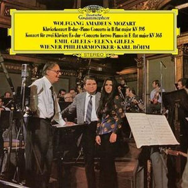 EMIL GILELS Mozart Piano Concerto No 27 LP