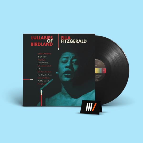 FITZGERALD, ELLA Lullabies of Birdland LP