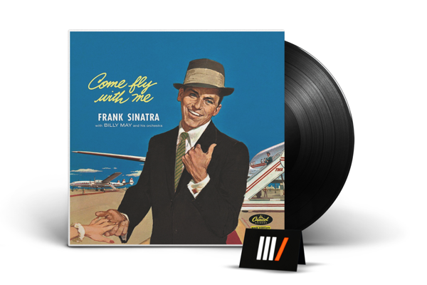 FRANK SINATRA Come Fly With Me LTD LP