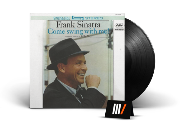 FRANK SINATRA Come Swing With Me! LP