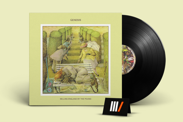 GENESIS Selling England By The Pound LP