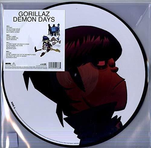 GORILLAZ Demon Days (PICTURE Vinyl Album) 2LP