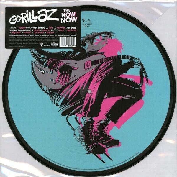GORILLAZ The Now Now (PICTURE Vinyl) LP