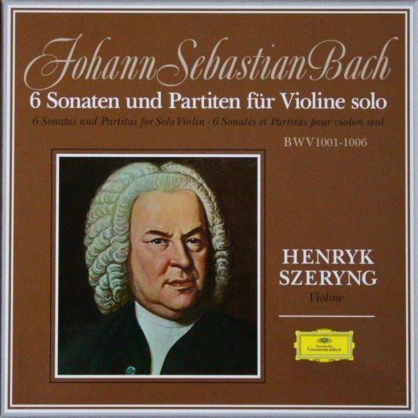 HENRYK SZERYNG Bach Sonatas & Partitas 1001-1006 3LP