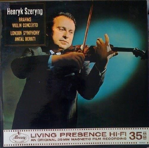 HENRYK SZERYNG Brahms Violin Concerto LP