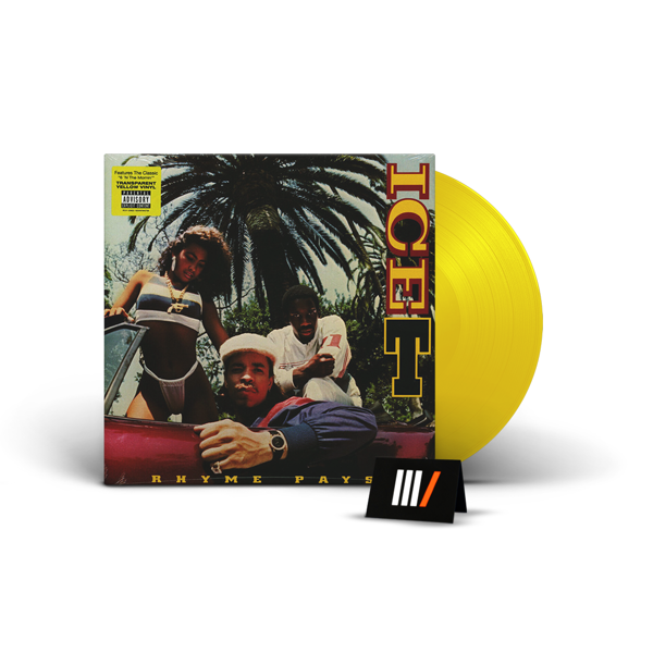 ICE-T Rhyme Pays LP YELLOW