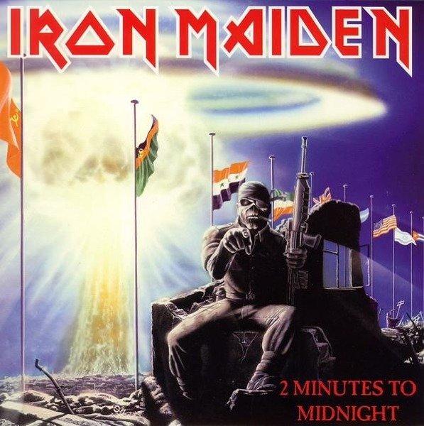 IRON MAIDEN 2 Minutes To Midnight (7') - Limited VINYL SINGLE