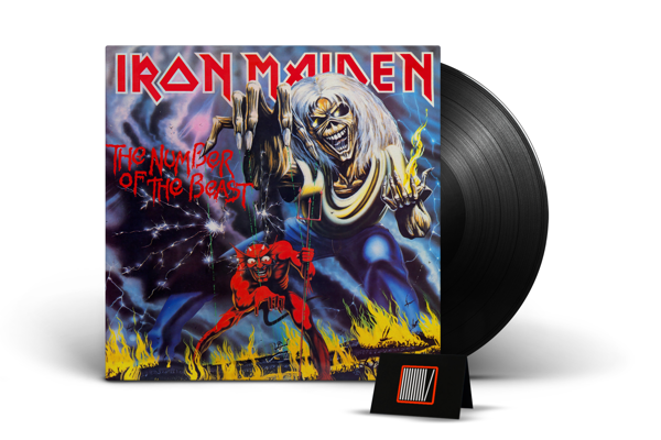 IRON MAIDEN The Number Of The Beast - Limited LP