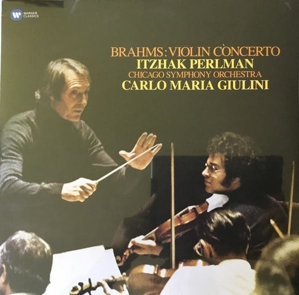 ITZHAK PERLMAN Brahms: Violin Concerto LP