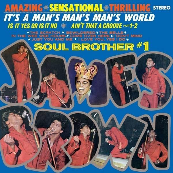 JAMES BROWN It's A Man's Man's Man's World LP