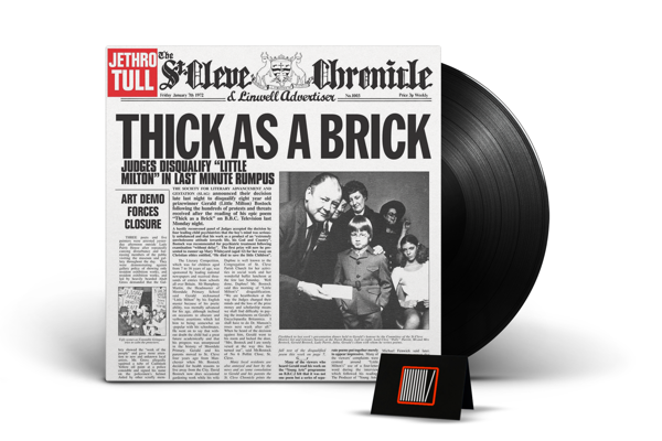JETHRO TULL Thick As A Brick LP