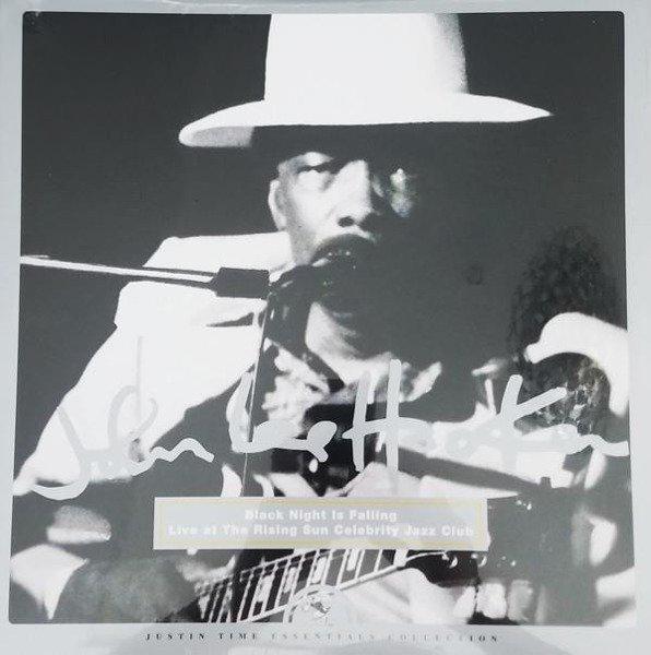 JOHN LEE HOOKER Black Night Is Falling - Live At The Rising Sun Celebrity Jazz Club LP