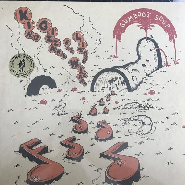 KING GIZZARD & THE LIZARD WIZARD Gumboot Soup Limited Edition LP