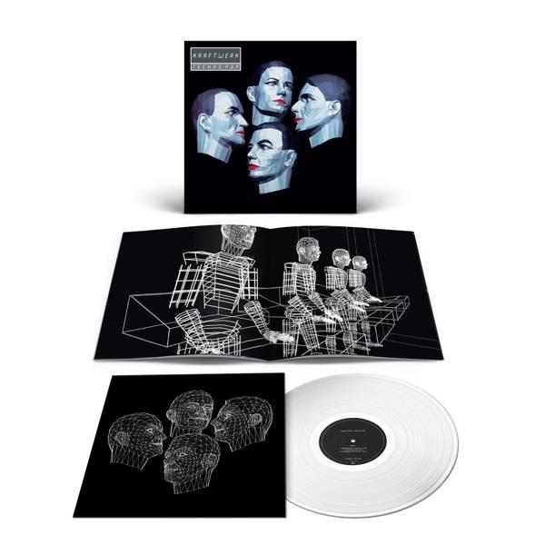 KRAFTWERK Techno-Pop LP Silver Vinyl (GERMAN)