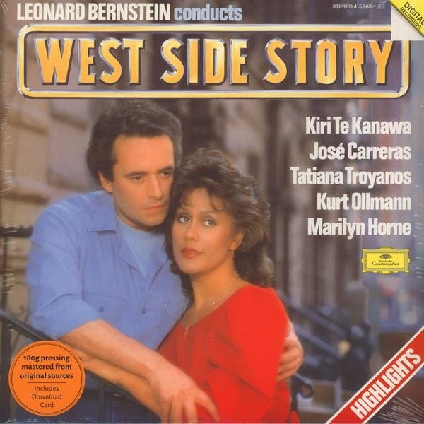 LEONARD BERNSTEIN West Side Story LP