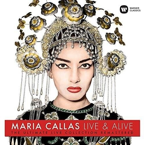 MARIA CALLAS Maria Callas: Live And Alive ! LP