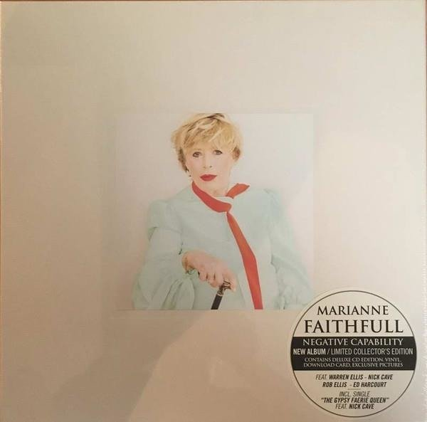 MARIANNE FAITHFULL Negative Capability LP+CD