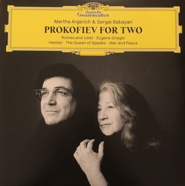 MARTHA ARGERICH Prokofiev For Two 2LP