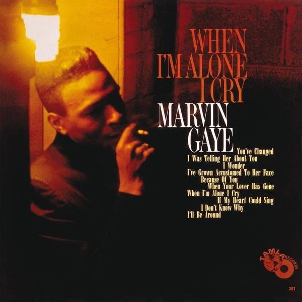 MARVIN GAYE When I'm Alone I Cry LP