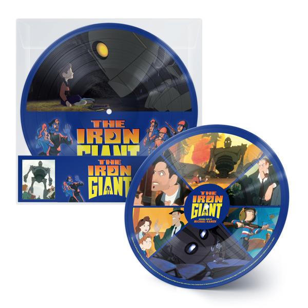 MICHAEL KAMEN The Iron Giant LP PICTURE DISC RSD