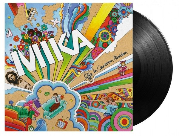 MIKA Life In Cartoon Motion LP