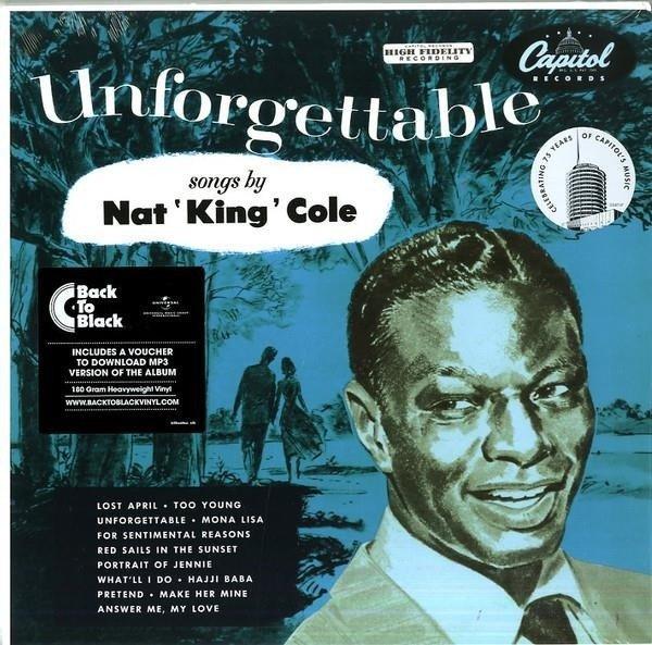 NAT KING COLE Unforgettable. LP