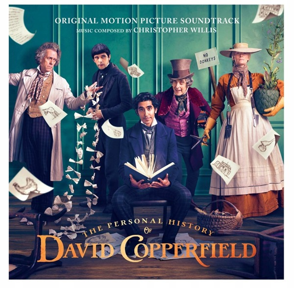 OST / CHRISTOPHER WILLIS The Personal History Of David Copperfield (ORIGINAL Motion Picture Soundtrack) 2LP