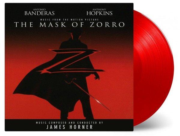 OST Mask of Zorro 2LP (Red Vinyl)