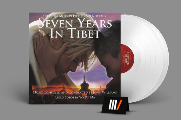 OST Seven Years In Tibet 2LP WHITE