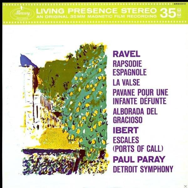 PARAY PAUL Mercury Liveing Presence: Ravel, Ibert LP