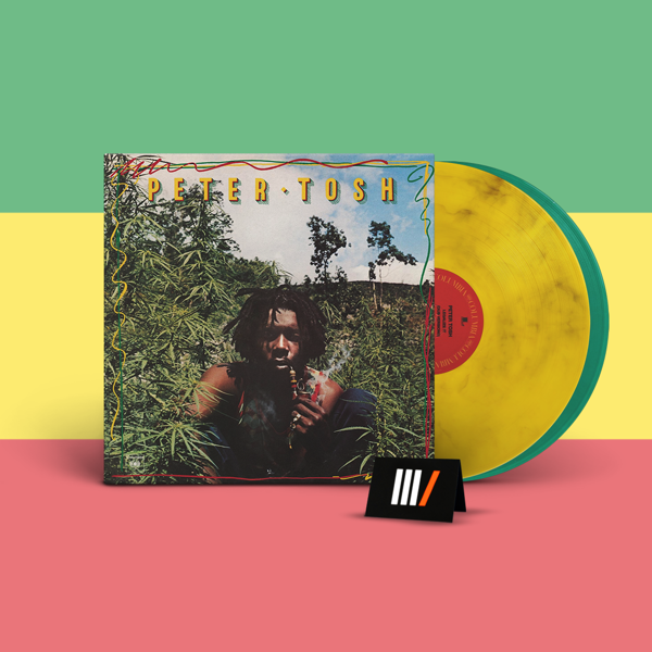 PETER TOSH Legalize It 2LP Green/Yellow Marbled